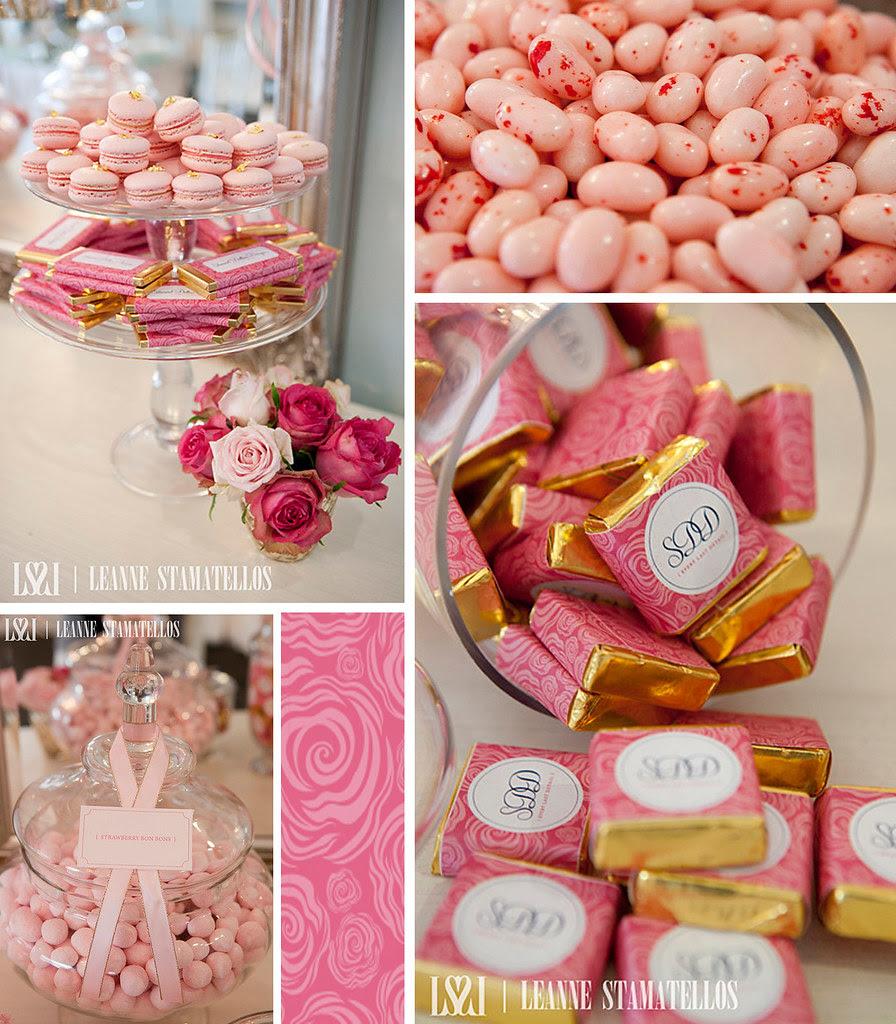 Pink & Gold !