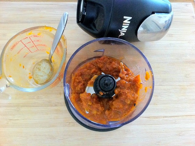 Marinara in Ninja Blender