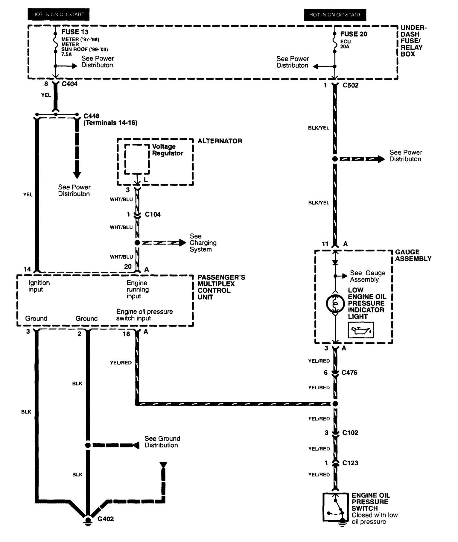 2001 Acura Rl Wiring Diagrams - Wiring Data