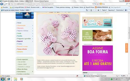 Menina Prendada no site Bebe.com.br by Menina Prendada -