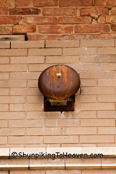 School Bell, Congress School, 1867, Polo, Illinois