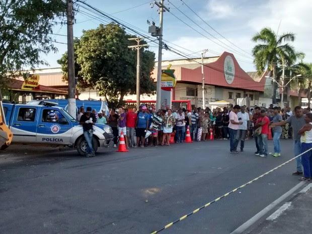 Acidente em Lauro de Freitas mata mulher de 29 anos (Foto: Secretaria de Trânsito e Transporte)