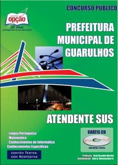 Prefeitura de Guarulhos / SP-ATENDENTE DO SUS