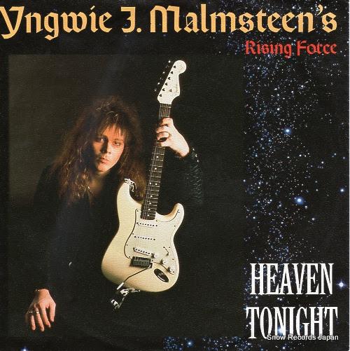 イングヴェイ・マルムスティーン / MALMSTEEN, YNGWIE J. - heaven tonight - 887518-7 - 西独盤