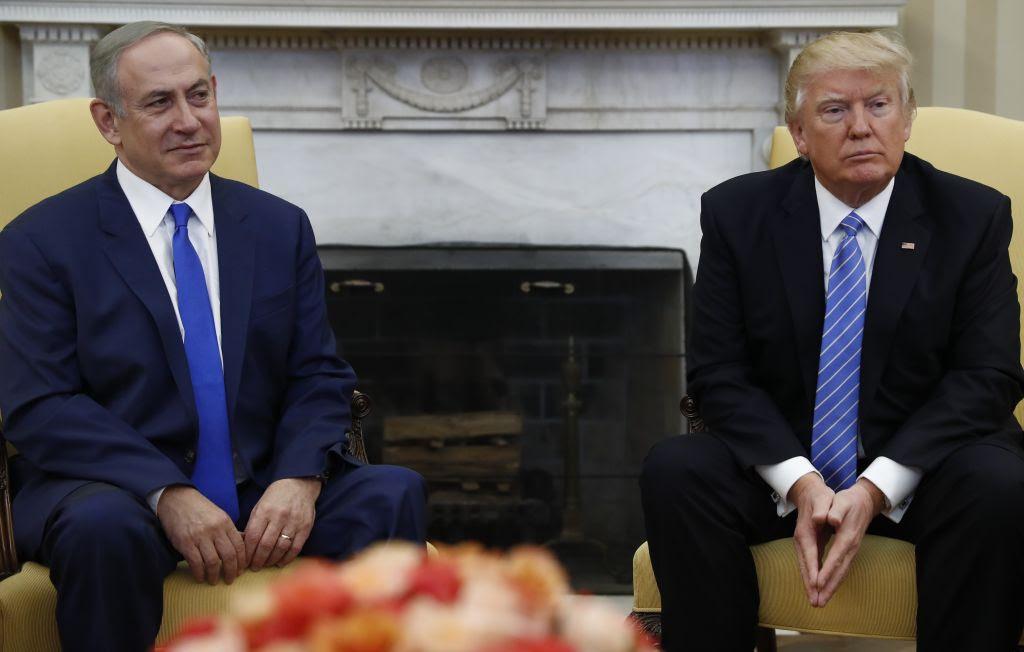 פרעזידענט טראמפ וועט באזוכן מדינת ישראל אין עטליכע וואכן