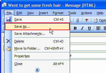 et auto reply outlook express 2
