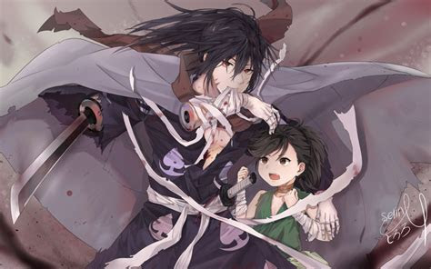 wallpaper  anime art hyakkimaru dororo background