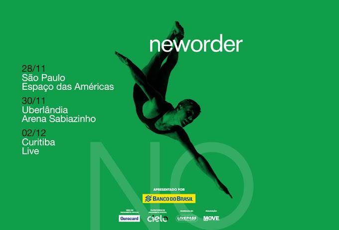 New Order anuncia três shows no Brasil em Novembro, um deles em Uberlândia