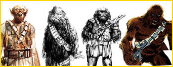 Birth of a Wookiee