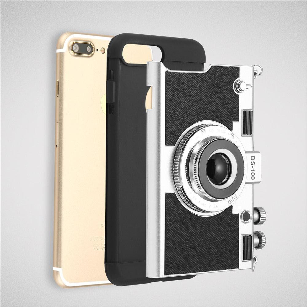 Phone Camera Design Case For Iphone 8 7 6 6s Plus Se 5s