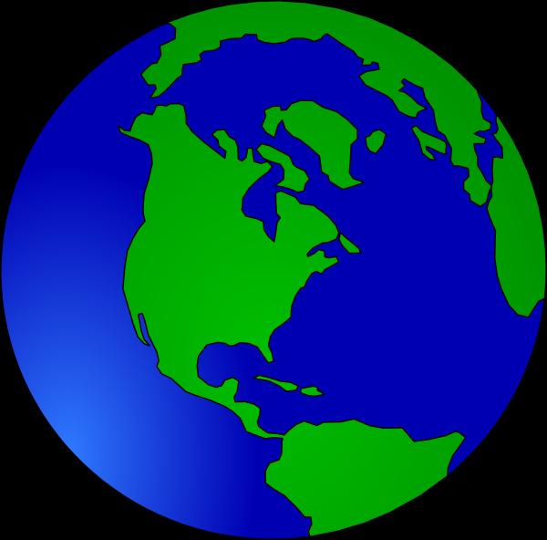 Earth Vector Clip Art at Clker.com - vector clip art ...