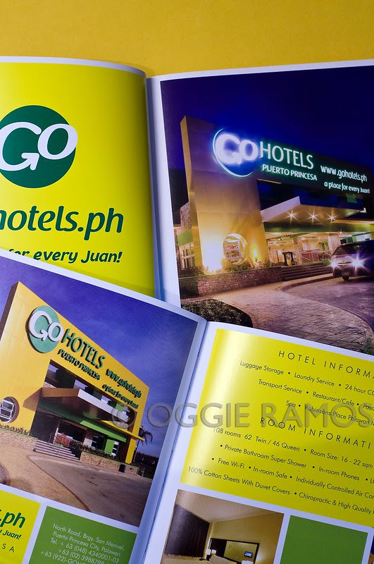 Robinsons Hotels Brochure 2012 - Oggie Palawan and Dumaguete GoHotels Shoots
