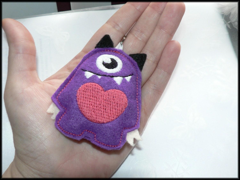 Keychain Little Mono monster