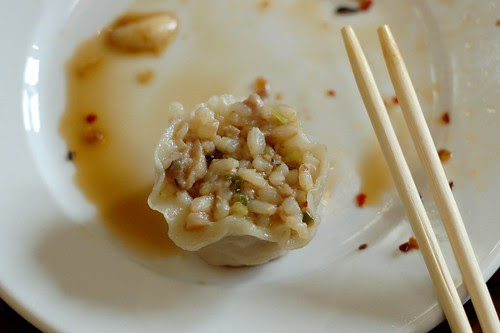 Dim Sum Pork Sui Mei at Imperial Tea Court by Eve Fox, Garden of Eating blog