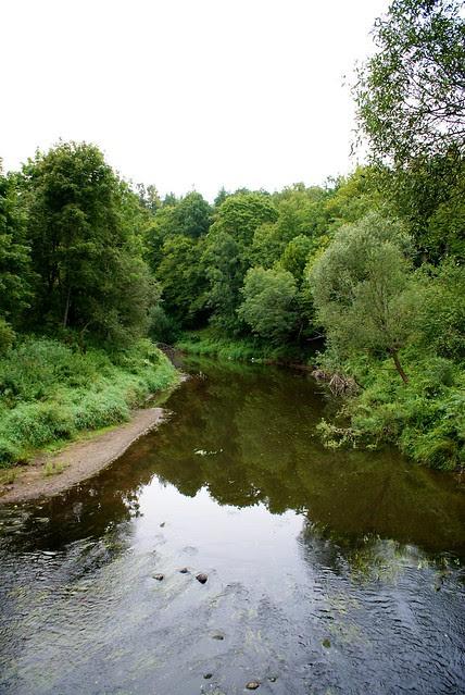 River Mituva  Kaunas - Jurbarkas with bike