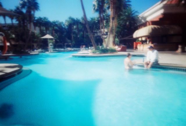 Treasure Island Pools Las Vegas P Sharan Pinhole Camera