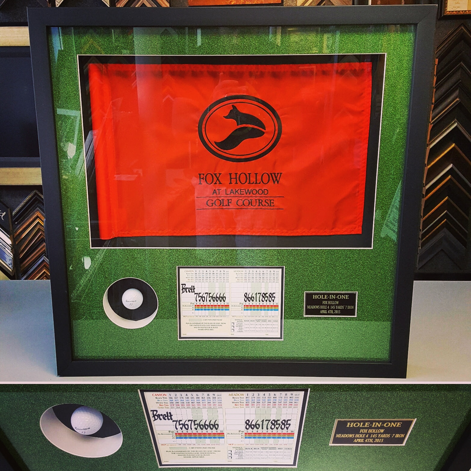 Hole In One Picture Frame Denver Fastframe Of Lodo Expert