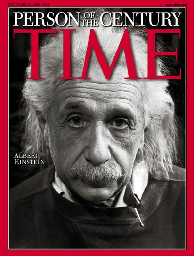 Physicist Albert Einstein & legend 'Person of the Century.' Photograph copyright Philippe Halsman.