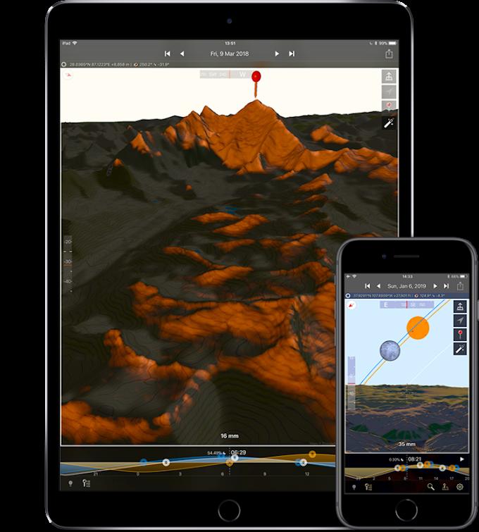 Fotografi wajib tahu! Aplikasi ini mempermudah fotografer menentukan posisi Matahari oleh - AppleAudio.xyz