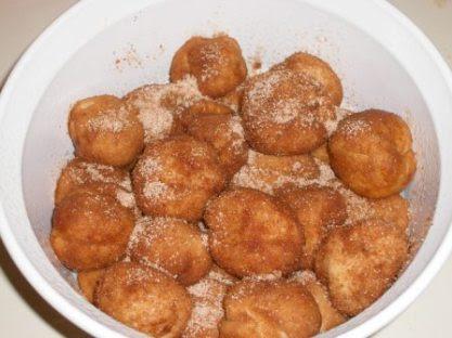 Monkey Bread Balls Ready to Rise