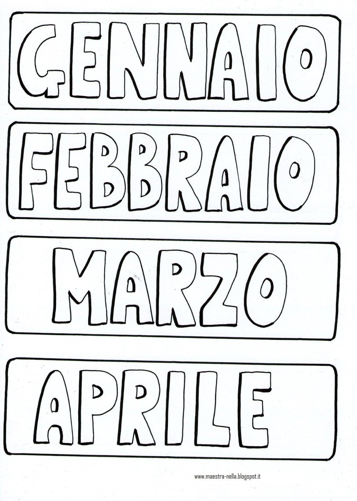 Giorni Della Settimana Per Bambini Da Stampare Fr97