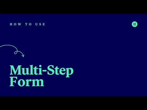 How to Create a Multi Step Forms in Elementor