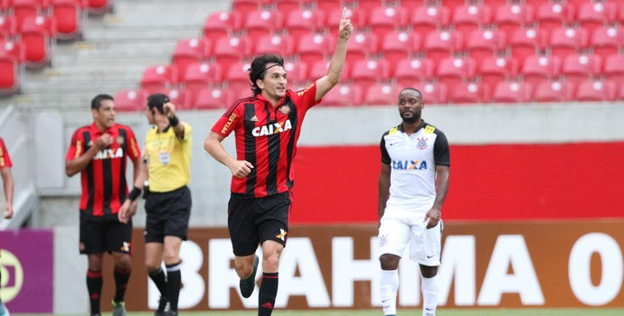 Sport x Corinthians (Foto: Aldo Carneiro / Pernambuco Press)