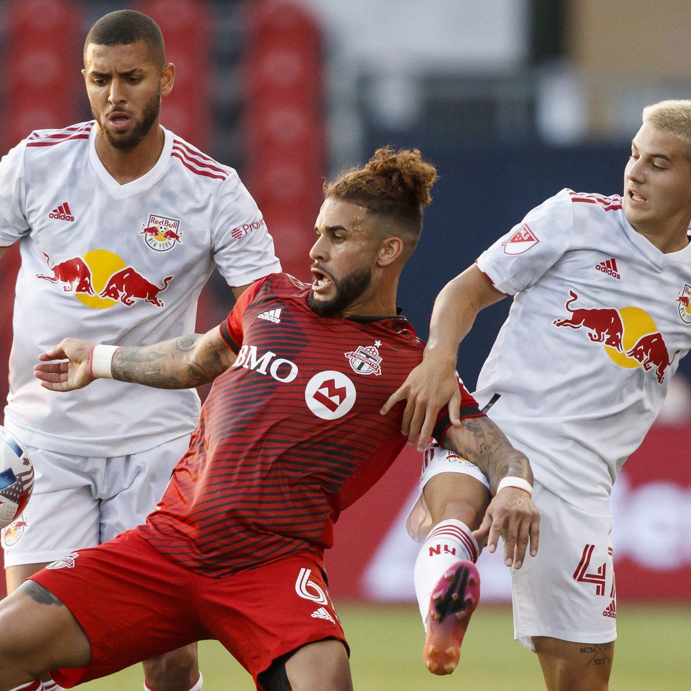 HIGHLIGHTS: Toronto FC vs. New York Red Bulls   July 21, 2021