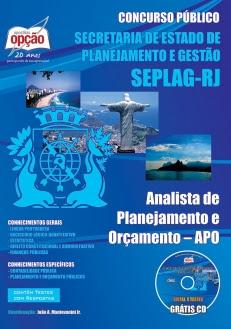 Secretaria Estadual de Planejamento e Gestão do Rio de Janeiro (SEPLAG)-ANALISTA DE PLANEJAMENTO E ORÇAMENTO