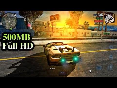 GTA V MOD v7 (500MB) Đồ Họa Full HD 1080P Nhiều siêu xe - Hỗ trợ máy Ram 1GB+ Cho mọi Android