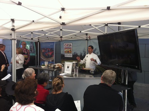 Cooking Demo at the Ferry Building