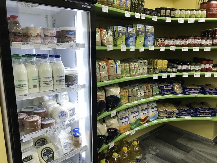 «Γωνιές συνεταιριστικών προϊόντων» στα σούπερ μάρκετ του Αγροτικού Συνεταιρισμού Θεσπρωτίας