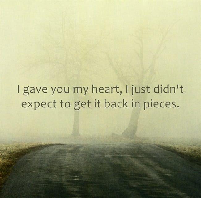 Top 68 Broken Heart Quotes And Heartbroken Sayings