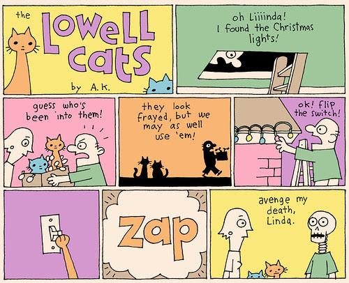 Laugh-Out-Loud Cats #2400 by Ape Lad