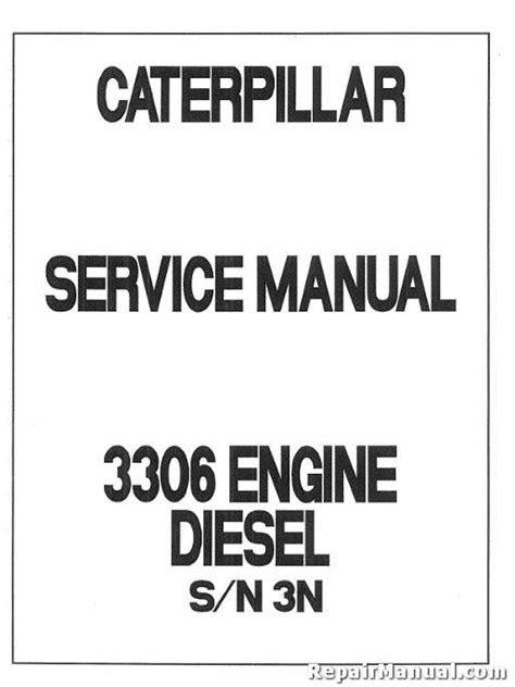 Caterpillar 3304 3306 White 4-270 Diesel Engine Service Manual