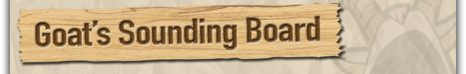 Goat's Sounding Board