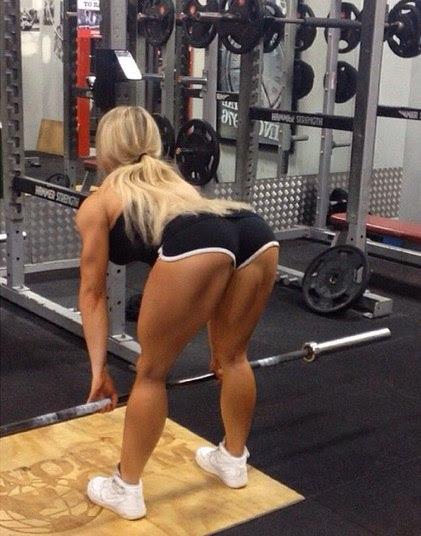 Não é difícil acreditar, já que ela vive postando fotos na academia e se exercitando
