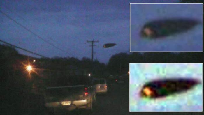 Un misterioso objeto fue supuestamente fotografiado en el cielo de Canadá.
