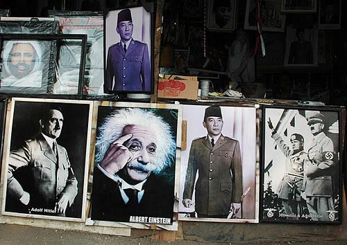 Hitler, Einstein and Sukarno