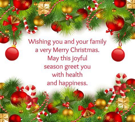 Wishing You Happiness  Free Merry Christmas Wishes