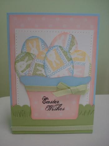 Easter card - forum blog hop