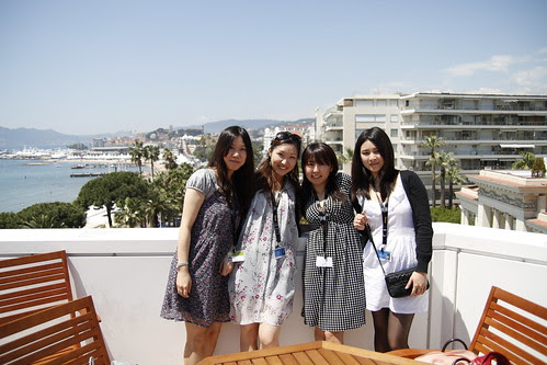 Yuiko, Mayuko, Moon Lai and Tomoko at Club Quinzaine