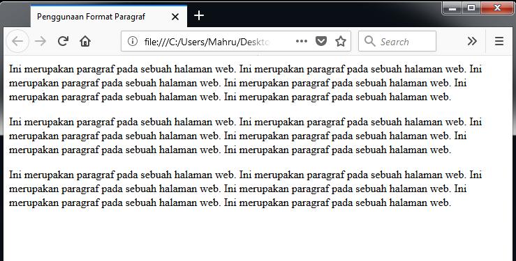 Apa itu html