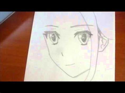 draw anime girl quick  easy youtube