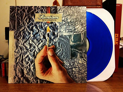 Samiam - You Are Freaking Me Out LP - Blue Vinyl (/100) by Tim PopKid
