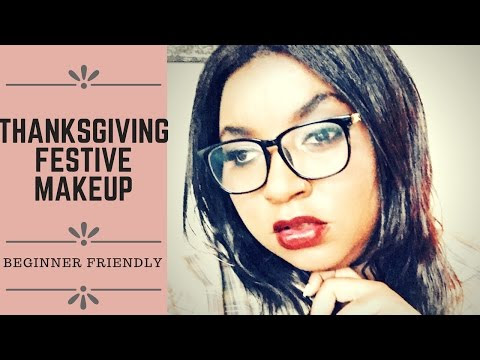 Thanksgiving Festive Makeup Look | Beginner Friendly