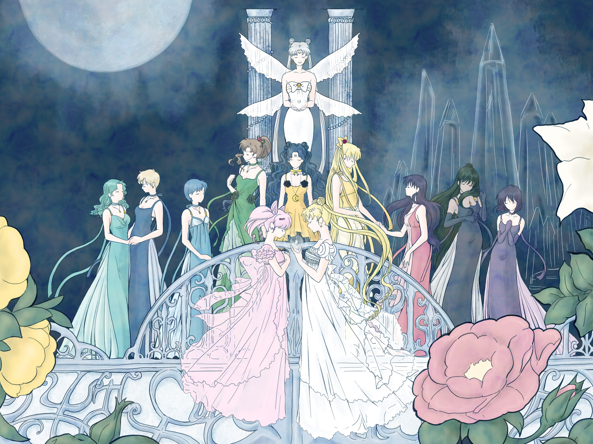 Sailormoon セーラームーン 壁紙 37468157 ファンポップ