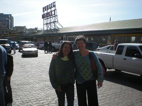 Carol and Mimi