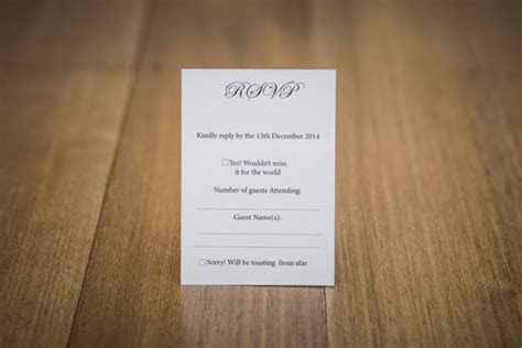 What exactly does RSVP mean?   Easy Weddings UK