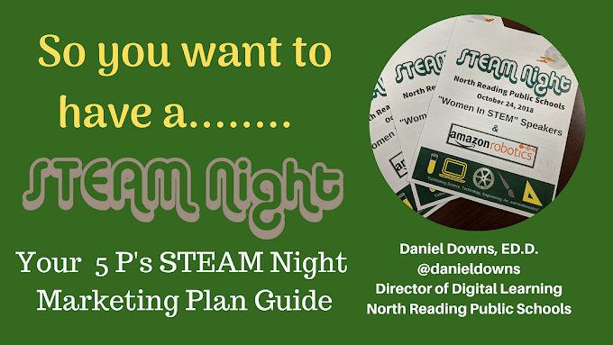 So You Want To Have A STEAM Night For Your School: Your 5 P's STEAM Night Marketing Plan